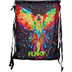 Funky Trunks Mesh Gear Bag, king parrot